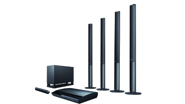 New 3D Blu-Ray Home Theatre Systems